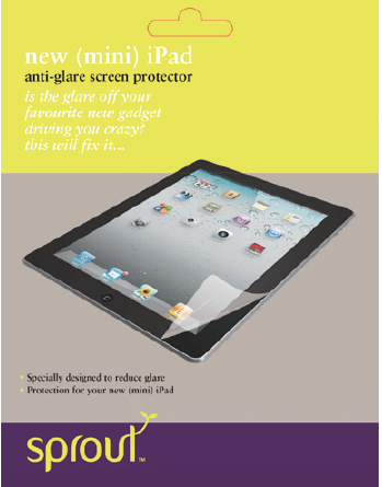 iPad Mini Screen Protector Standard Clear - Sprout ...