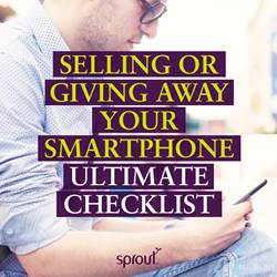 Five top tips when selling or giving away your smartphone