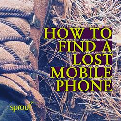 How to find a lost mobile phone