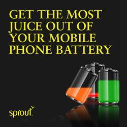 Get the Most Juice Out of Your Mobile Phone Battery