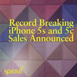 Record Breaking iPhone 5s and 5c Sales Announced