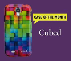 Get Cubed With the Phone Case of the Month