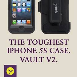 Introducing the toughest iPhone 5s case around