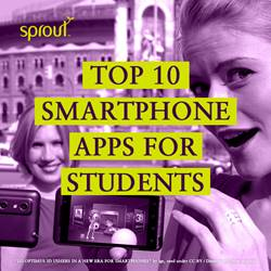 Top 10 smartphone apps for students