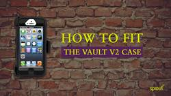 How to fit The Vault V2 phone case