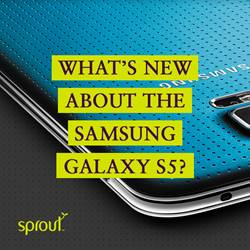 What's new about the Samsung Galaxy S5?