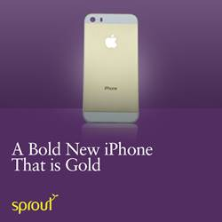A Bold New iPhone that is Gold