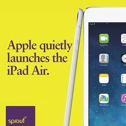 Apple quietly launches the iPad Air