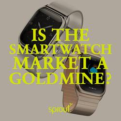 Is the smartwatch market a goldmine?