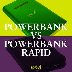 Powerbank vs Powerbank Rapid