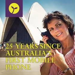 25 Years Since Australia's First Mobile Phone