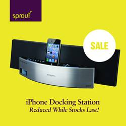 iPhone Docking Station - Reduced While Stocks Last!