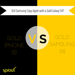Did Samsung Copy Apple with a Gold Galaxy S4?