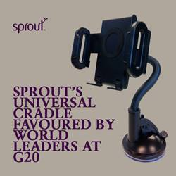 Sprout's universal cradle favoured by world leaders at G20