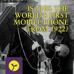 Are We Crazy or Is This the World's First Mobile Phone?