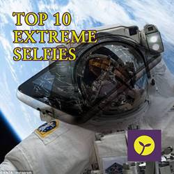Top 10 Extreme Selfies