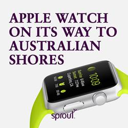 Apple Watch on its way to Australian shores