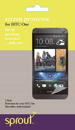 htc  screen protector sprout accessories