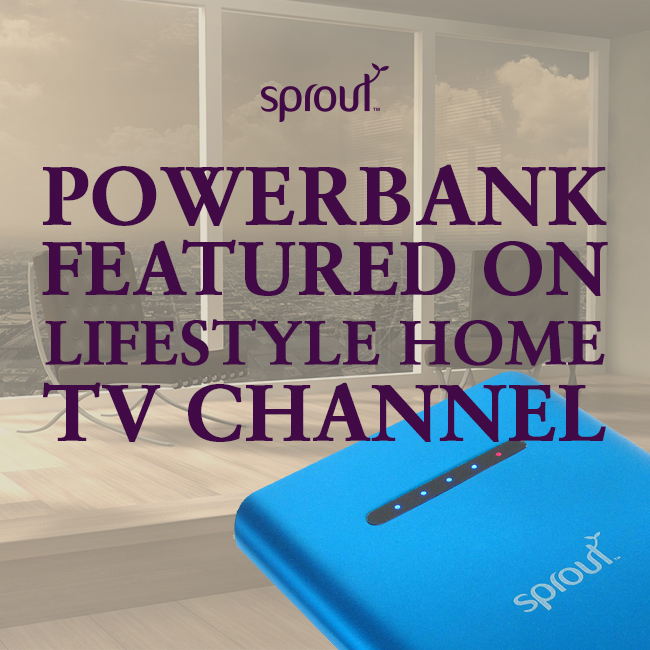 sprout power bank 6000mah manual